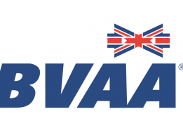 BVAA Logo with graphic